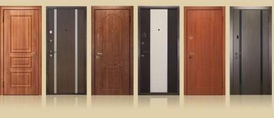Входные защитные двери из стали