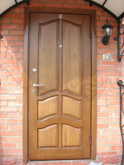 Накладной тип дверей