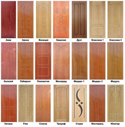 Разновидности дверей Зетта