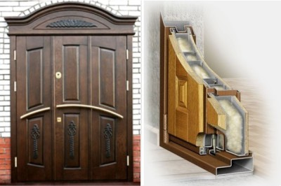 Элитные входные утепленные металлические двери