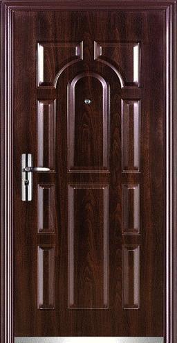 Входная дверь из железа