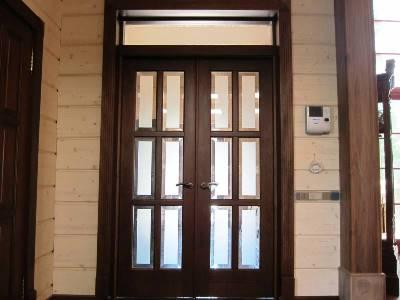 Дверь двойная двустворчатая