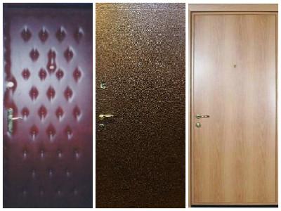 Типы отделок двери