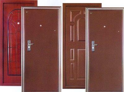 Двери с полотнами друг за другом