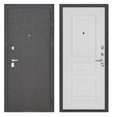 Дверь металлическая «Сенатор» с порошковым покрытием