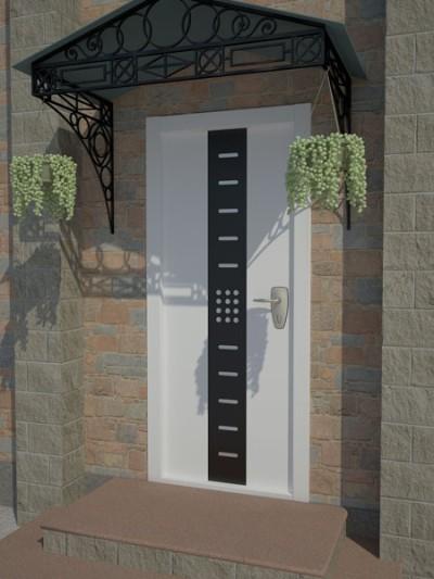 Усиленная металлическая дверь Пандор
