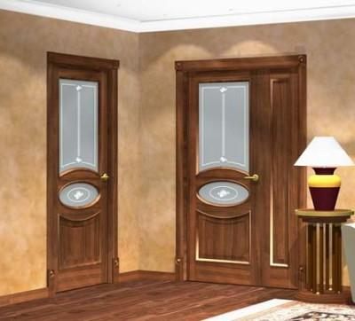 Дверь для единого интерьерного ансамбля