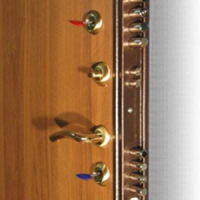 Пример замковой системы в сейфовой двери