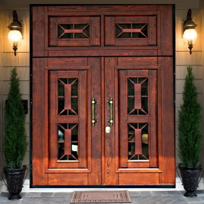 Двустворчатая дверь с увеличенным проемом