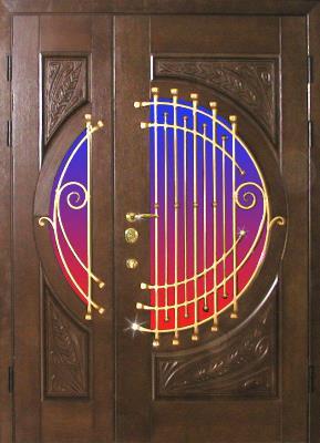 Дверь, выполненная по эскизу заказчика