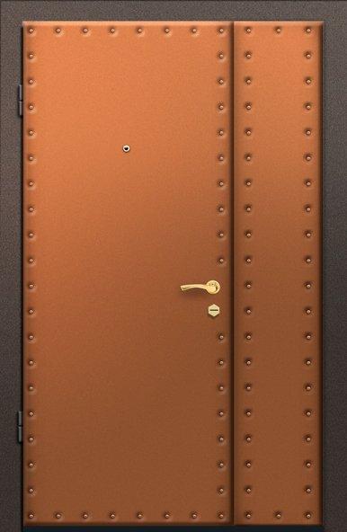 Дверь с отделкой из винилискожи