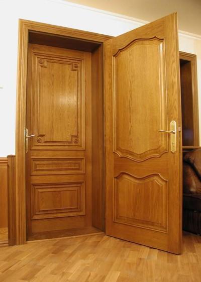 Двойная входная дверь