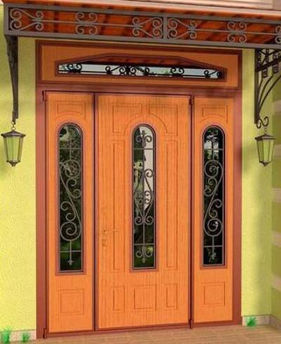 Нестандартные двери стальные