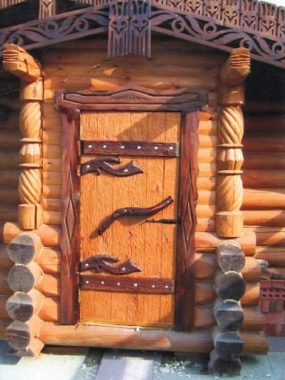 Входные банные двери