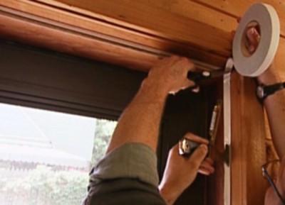 Теплоизоляция входной деревянной двери