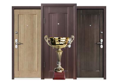 Популярные входные двери