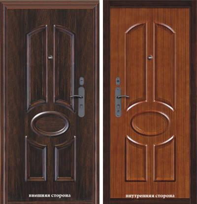 Стальные двери Дива