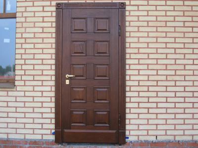 Входная дверь стандартной ширины