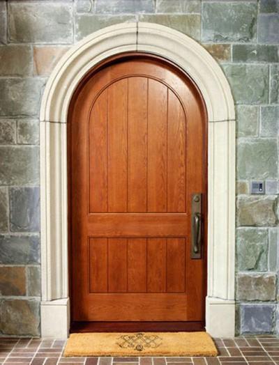 Дверь арочная входная
