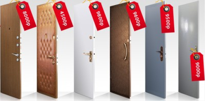 Дешевые двери входные металлические
