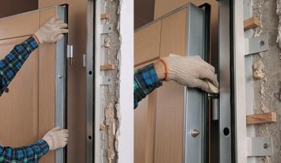 Корректировка дверных петель