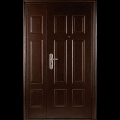Двойные двери для уличной установки