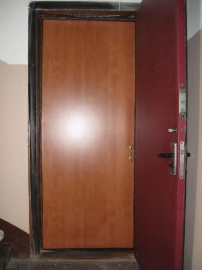 Моноблочная входная дверь