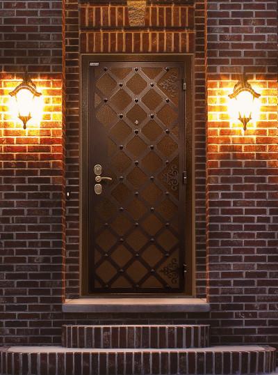 Двери металлические Интекрон