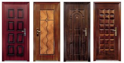 За кажущейся хрупкостью дверей всегда прячется надежная защита