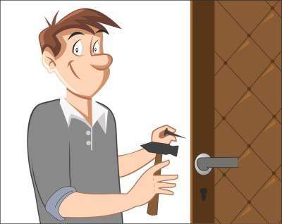 Реставрация входной двери