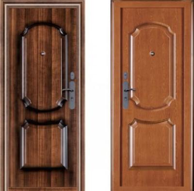 высокий проем для стандартной входной двери