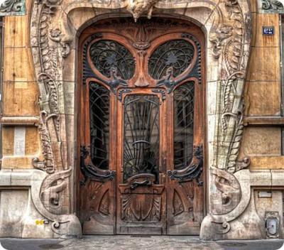 Нестандартные дверные блоки