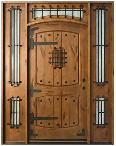 Дверь из дубового массива