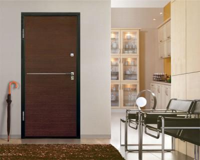 Взломостойкая дверь не портит интерьер
