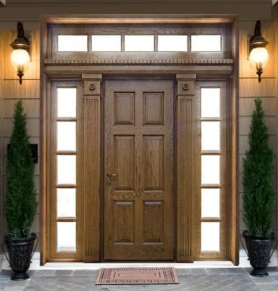 Дверь с утеплителем
