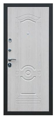 Дверь Троя белый глянец